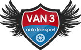 Van 3 Auto Transport Logo