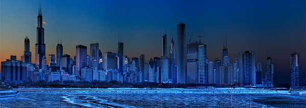Chicago -in -ice